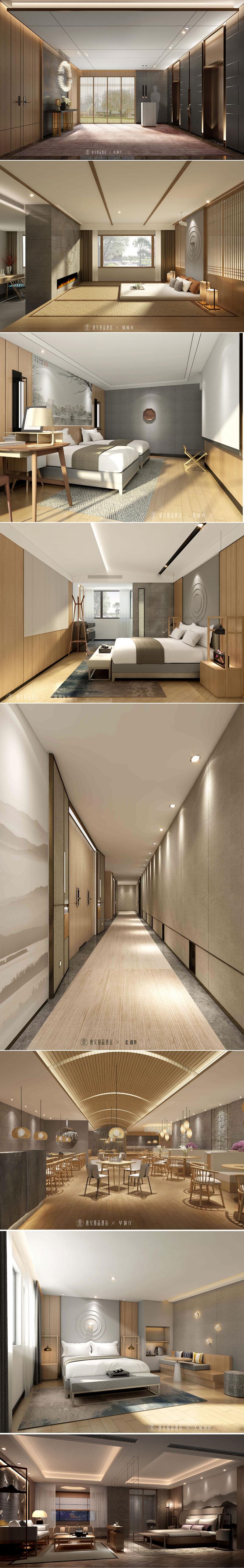 唐安主题酒店设计(图1)